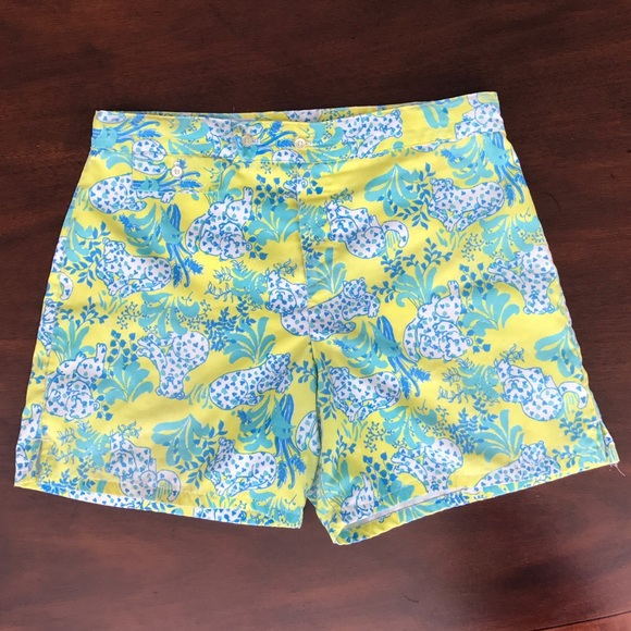 8fdd3ef64d556b Lilly Pulitzer Other - Vintage Lilly Pulitzer Men's Stuff Swim Shorts
